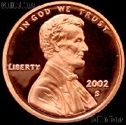 2002-S Lincoln Memorial Penny Lincoln Cent Gem PROOF RED Penny