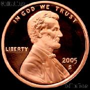 2005-S Lincoln Memorial Penny Lincoln Cent Gem PROOF RED Penny