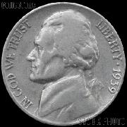 1939 Jefferson Nickel Circulated G-4 or Better