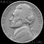 1940 Jefferson Nickel Circulated G-4 or Better