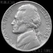 1942 Jefferson Nickel Circulated G-4 or Better