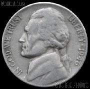 1946 Jefferson Nickel Circulated G-4 or Better