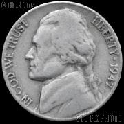 1947 Jefferson Nickel Circulated G-4 or Better
