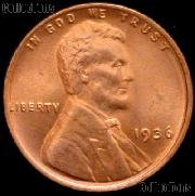 1936 Lincoln Wheat Cent GEM BU RED Penny for Album