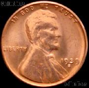 1939-S Lincoln Wheat Cent GEM BU RED Penny for Album