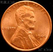 1944-S Lincoln Wheat Cent GEM BU RED Penny for Album