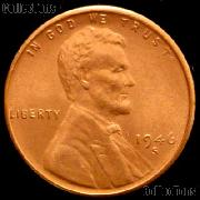 1946-S Lincoln Wheat Cent GEM BU RED Penny for Album