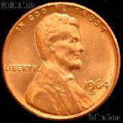 1964-D Lincoln Memorial Cent GEM BU RED Penny