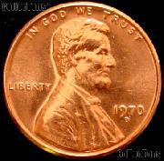 1970-D Lincoln Memorial Cent GEM BU RED Penny