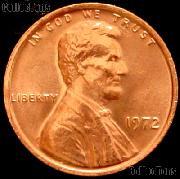 1972 Lincoln Memorial Cent GEM BU RED Penny