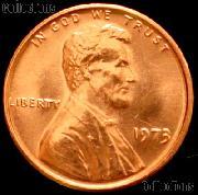 1973 Lincoln Memorial Cent GEM BU RED Penny