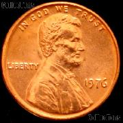1976 Lincoln Memorial Cent GEM BU RED Penny