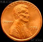 1978 Lincoln Memorial Cent GEM BU RED Penny