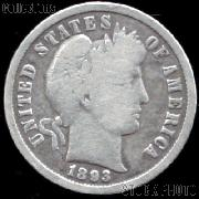 1893-S Barber Dime G-4 or Better Liberty Head Dime