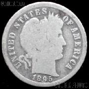 1895-S Barber Dime G-4 or Better Liberty Head Dime