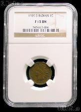 1909-S Indian Head Cent KEY DATE in NGC F 15 BN (Brown)