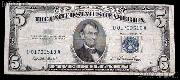 Five Dollar Bill Silver Certificate Series 1953 US Currency Good or Better