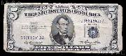 Five Dollar Bill Silver Certificate Series 1953 US Currency