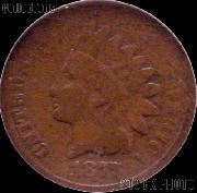 1877 Indian Head Cent Variety 3 Bronze G-4 or Better Indian Penny