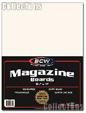 Magazine Backing Boards by BCW Pack of 100