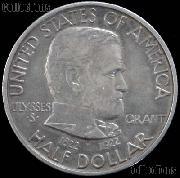 Grant Memorial Silver Commemorative Half Dollar (1922) in XF+ Condition