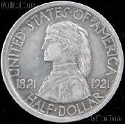 Missouri Centennial Silver Commemorative Half Dollar (1921) in XF+ Condition