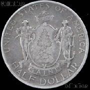 Maine Centennial Silver Commemorative Half Dollar (1920) in XF+ Condition