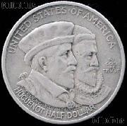 Huguenot Walloon Tercentenary Silver Commemorative Half Dollar (1924) in XF+ Condition