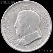 Cleveland Centennial Great Lakes Exposition Silver Commemorative Half Dollar (1936) in XF+ Condition
