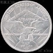 Arkansas Centennial Robinson Silver Commemorative Half Dollar (1936) in XF+ Condition