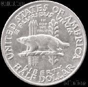 Wisconsin Territorial Centennial Silver Commemorative Half Dollar (1936) in XF+ Condition