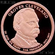 2012-S Grover Cleveland 1893 Presidential Dollar GEM PROOF Coin