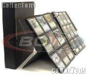 BCW Break Back Display Album for Trading Cards, in Black