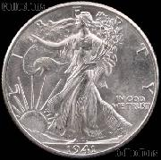 1941 Walking Liberty Silver Half Dollar * Choice BU 1941 Walker