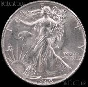 1946-D Walking Liberty Silver Half Dollar * Choice BU 1946 Walker