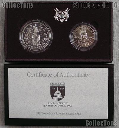 1989 D Congressional Bicentennial Commemorative