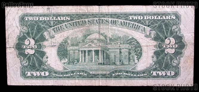 Two Dollar Bill Red Seal Series 1928 US Currency