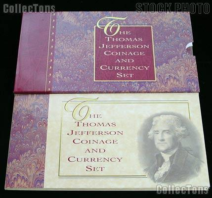 1993 Thomas Jefferson Coinage And Currency Commemorative