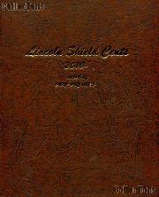 Dansco Lincoln Shield Cents Album w/ Proof 2010 - Date # 8104