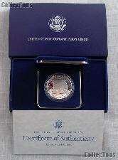 1987-S United States Constitution Bicentennial Commemorative Proof Silver Dollar