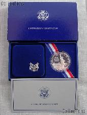 1986-S Statue of Liberty Centennial Commemorative Proof Silver Dollar