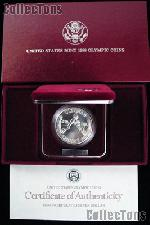 1988-D Seoul Olympiad US Olympic Commemorative Uncirculated Silver Dollar