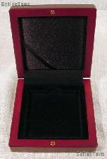 Coin Box Wooden for QUADRUM XL Coin Holder by Lighthouse VOLTERRA QUADRUM XL