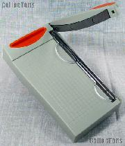 Mount Cutter for Stamp Mounts by Showgard Mini Guillotine 601