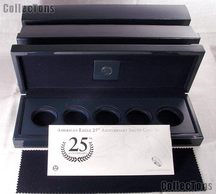 No Coins 2011 Silver Proof Set BOX//COA ONLY