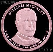 2013-S William McKinley Presidential Dollar GEM PROOF Coin
