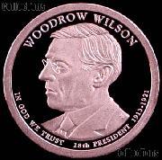 2013-S Woodrow Wilson Presidential Dollar GEM PROOF Coin
