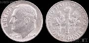 Roosevelt Silver Dimes (1946-1964) One ROLL 50 Coin Lot G+ Condition