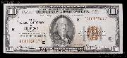 One Hundred 100 Dollar Bill Federal Reserve Bank Note Brown Seal US Currency Good or Better