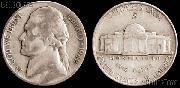 Jefferson Silver War Nickel (1942-1945) One Coin G+ Condition